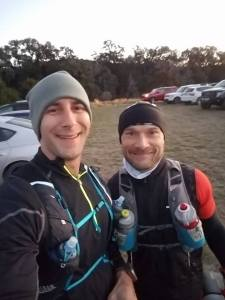 New friends that stayed at the Terranova Ranch over the weekend, Jason Zeruto and Troy Bertram. Both guys fought hard and finished the 100k. Inspiring performance fellas!